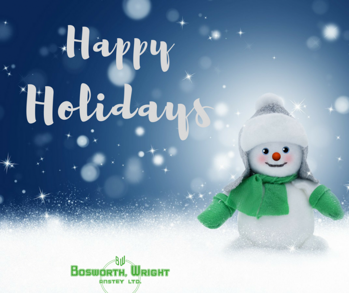 Bosworth Wright happy holidays